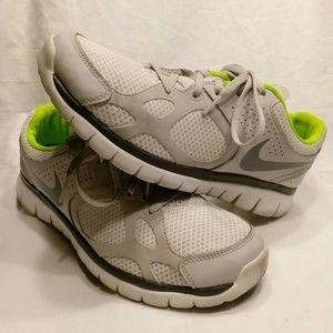 0184c6fe14acf Nike Shoes - Nike ID Free Flex  Size 9.5  Run  Walk  Neon
